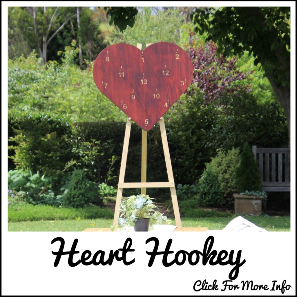 Giant Hookey heart shaped