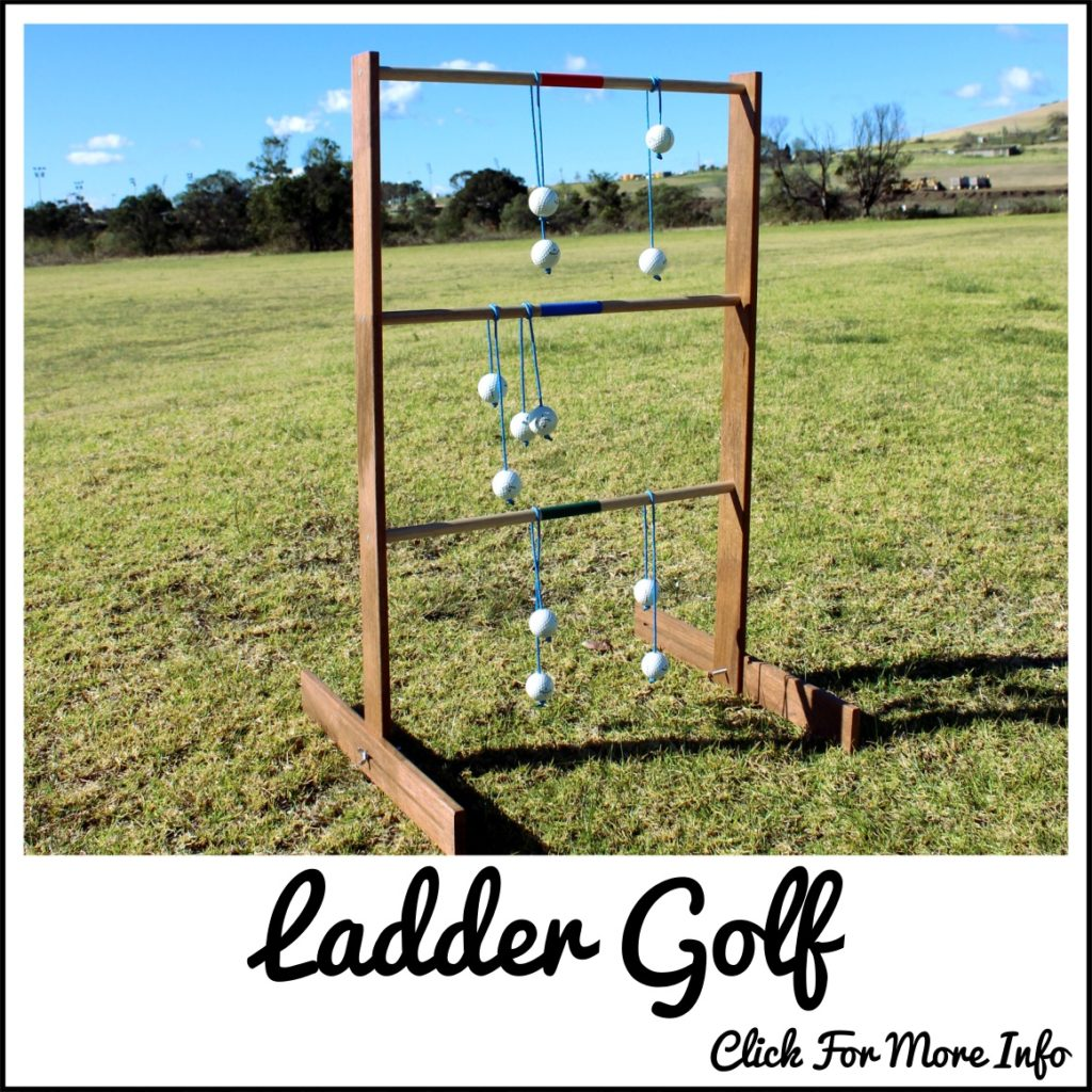 Ladder Golf game
