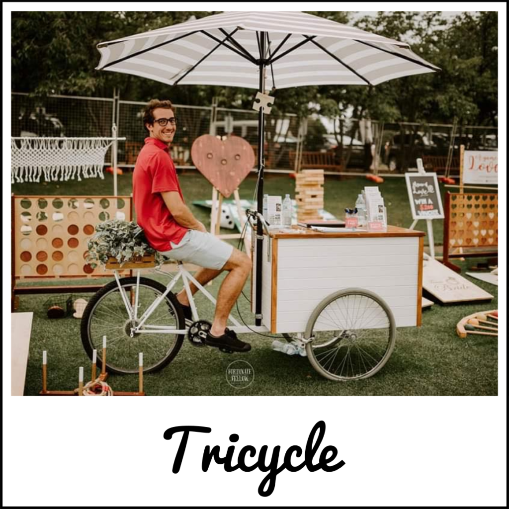 Vintage style tricycle