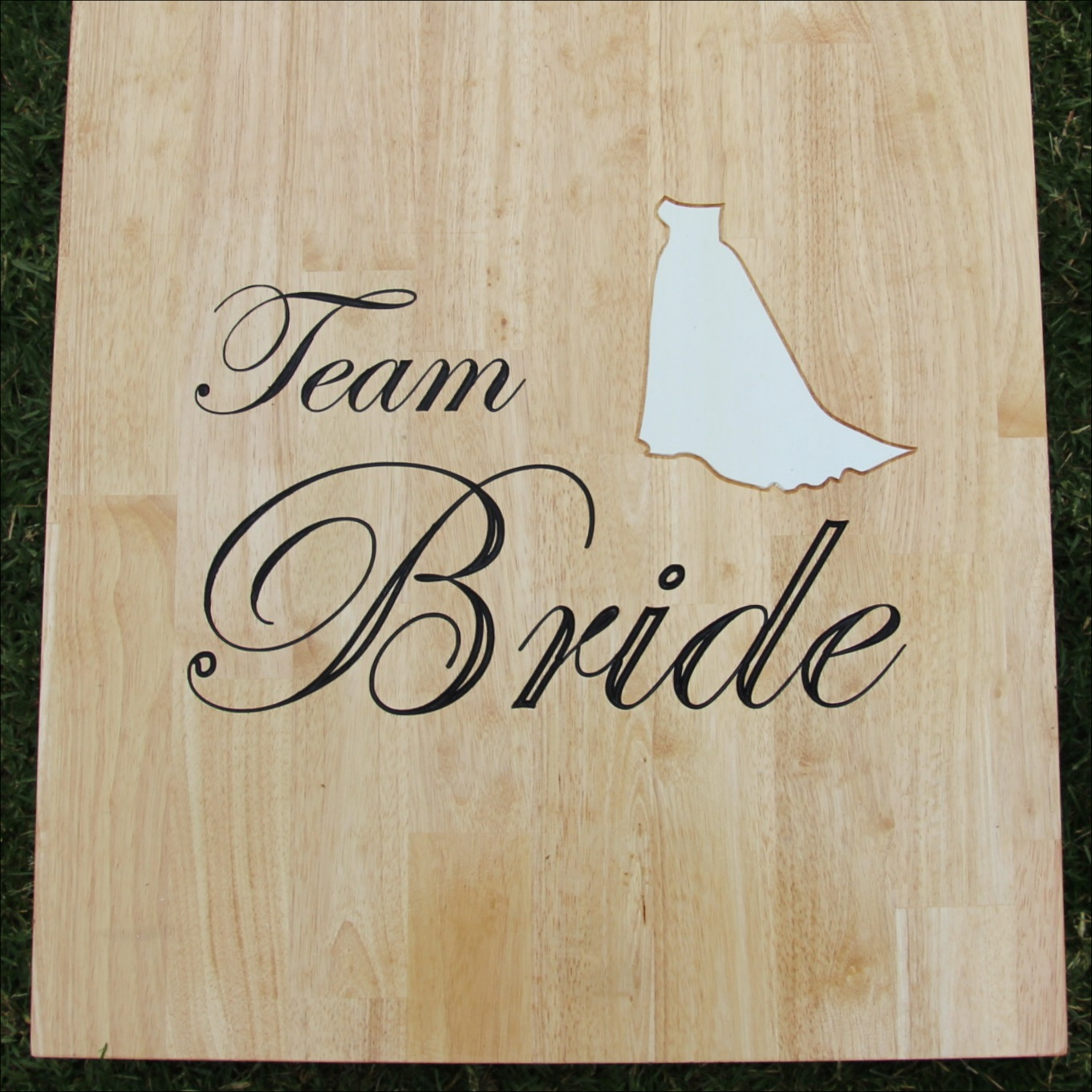 Team bride design