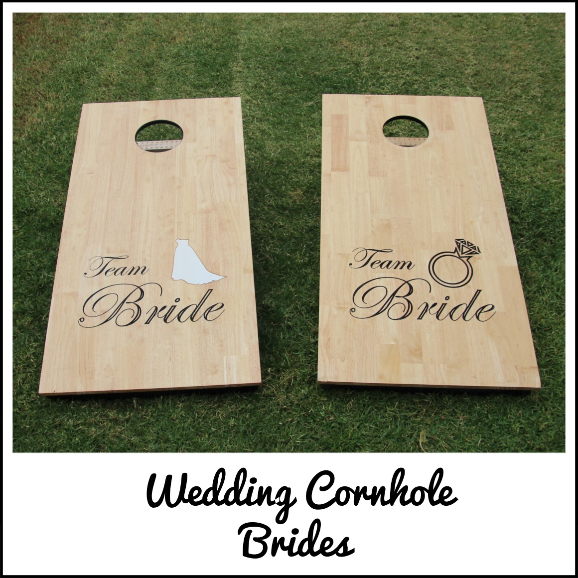 Wedding Cornhole Brides